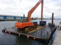 Picture for Plant; Flat top barge