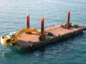 Picture for Plant; floating  excavator-drill barge